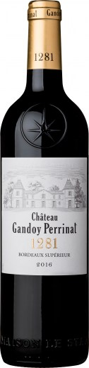 Château Gandoy Perrinat Rouge 75cl - bottle